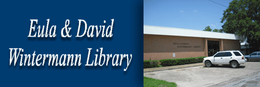 Eula & David Wintermann Library Logo